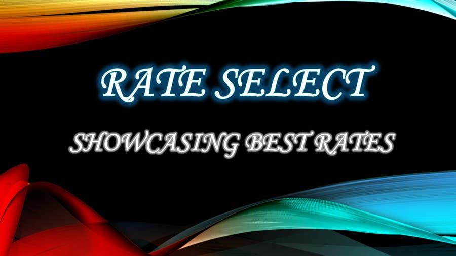 Bài tham dự cuộc thi #100 cho Rate Select slogan