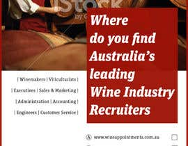 #10 for Design an Advertisement for recruitment into the wine industry af samazran
