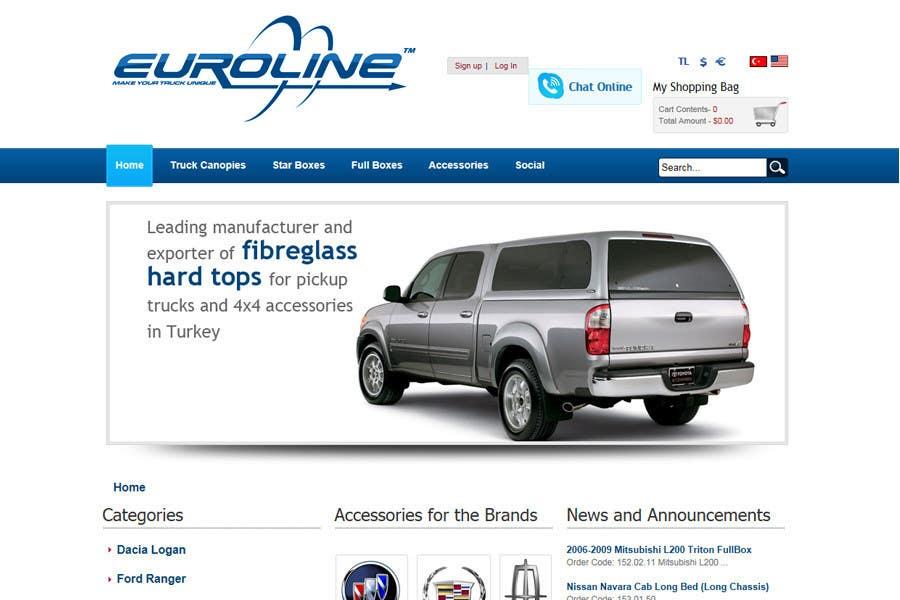 Penyertaan Peraduan #441 untuk Logo Design for EUROLINE