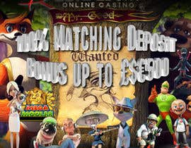 ianraa tarafından Design an Advertisement for Casino Slot Machine Games için no 9