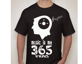 benspylee tarafından Design a Music Related T-Shirt for 365 Grind için no 13