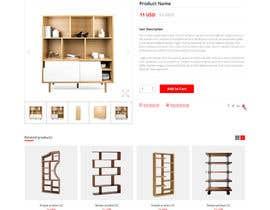 Nro 71 kilpailuun Design a single product page mockup for furniture ecommerce käyttäjältä abhijitgh632