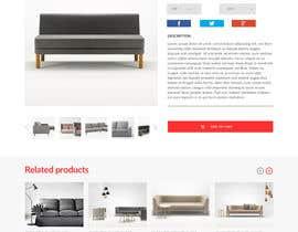 Nro 49 kilpailuun Design a single product page mockup for furniture ecommerce käyttäjältä ducdungbui