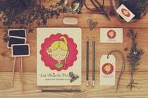 Logo Design Entri Peraduan #72 for Logo for a young girl home grown herbal tea compagny (les Thés de Penny)