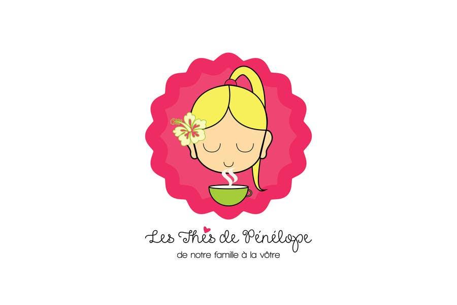 Penyertaan Peraduan #                                        73                                      untuk                                         Logo for a young girl home grown herbal tea compagny (les Thés de Penny)
