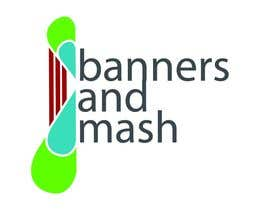 nº 99 pour Logo Design for Banners and Mash Limited par animrev