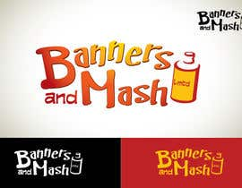 #100 para Logo Design for Banners and Mash Limited por Ivgot