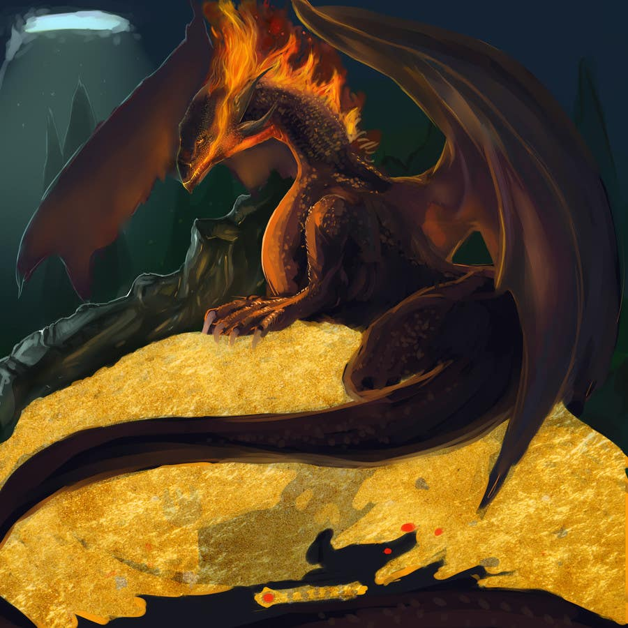 #9 for Awesome Dragon Illustration by DragonFlamely