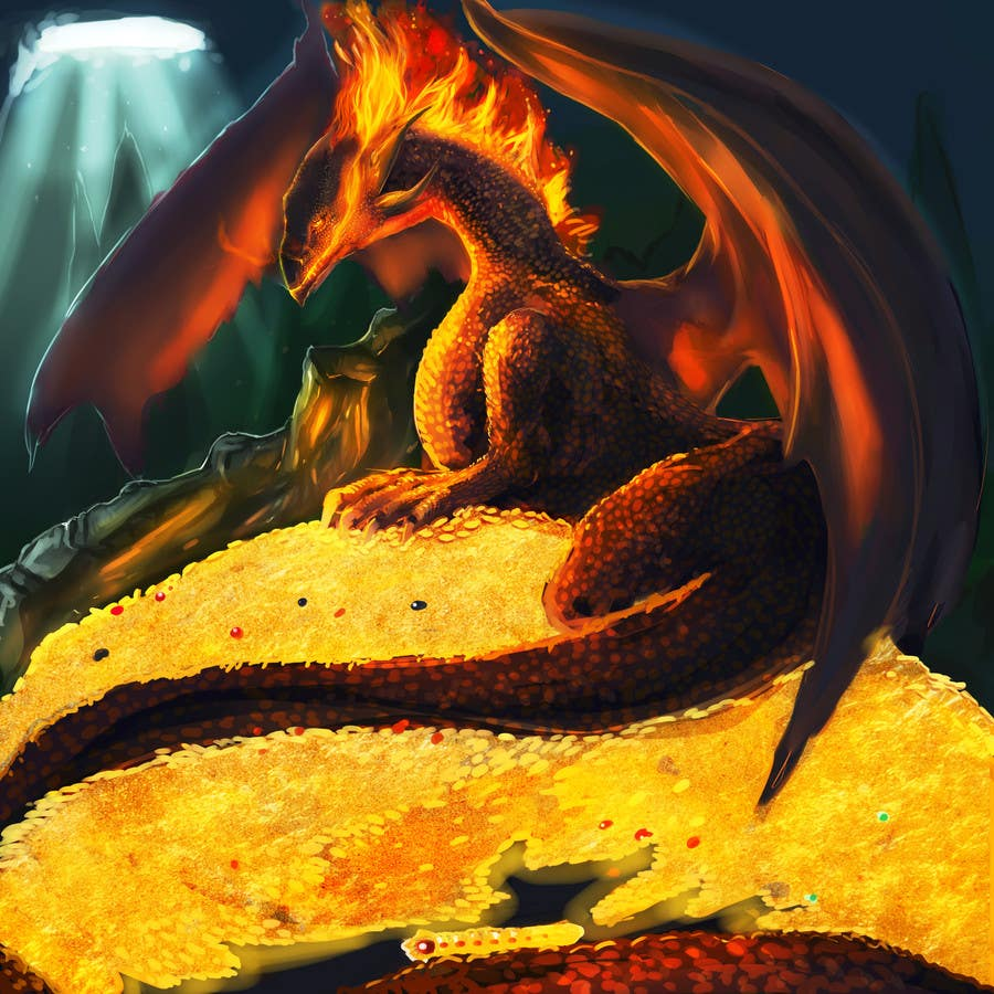 #16 for Awesome Dragon Illustration by DragonFlamely