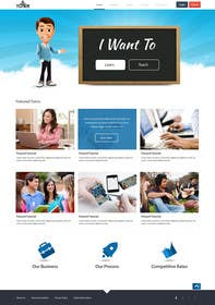 #18 for Graphics Design for Home Page of TCHER Agency Website by SadunKodagoda
