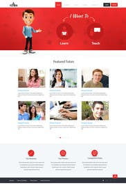 #30 for Graphics Design for Home Page of TCHER Agency Website by SadunKodagoda