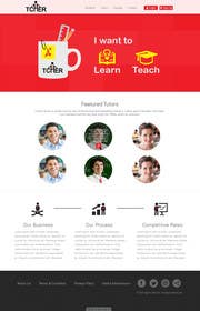 #21 for Graphics Design for Home Page of TCHER Agency Website by JosephNgo
