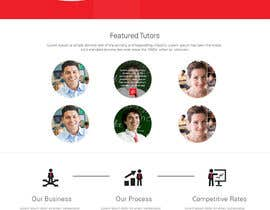 #21 para Graphics Design for Home Page of TCHER Agency Website por JosephNgo