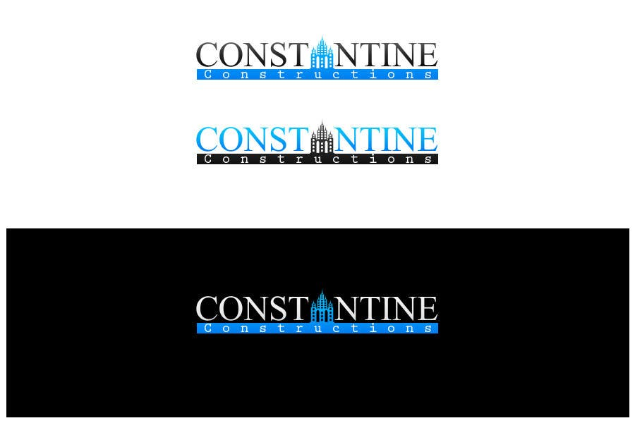 Contest Entry #                                        155                                      for                                         Logo Design for Constantine Constructions