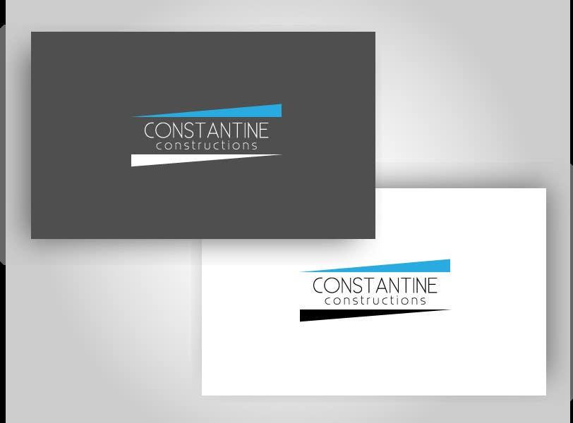 Kilpailutyö #247 kilpailussa Logo Design for Constantine Constructions