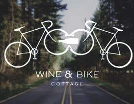 #7 para Design a Logo for Bike&Wine Cottage - repost - repost por Valentinafonck91