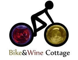 #10 para Design a Logo for Bike&Wine Cottage - repost - repost por Galera