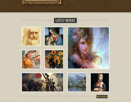 "unguryanu tarafından Design a Website Mockup for ""The Golden Book"" için no 7"
