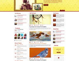 "#9 for Design a Website Mockup for ""The Golden Book"" af ProliSoft"