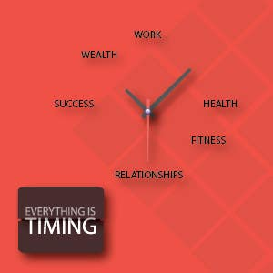 #31 for Splash Page for Everything is Timing by jjosephdesign