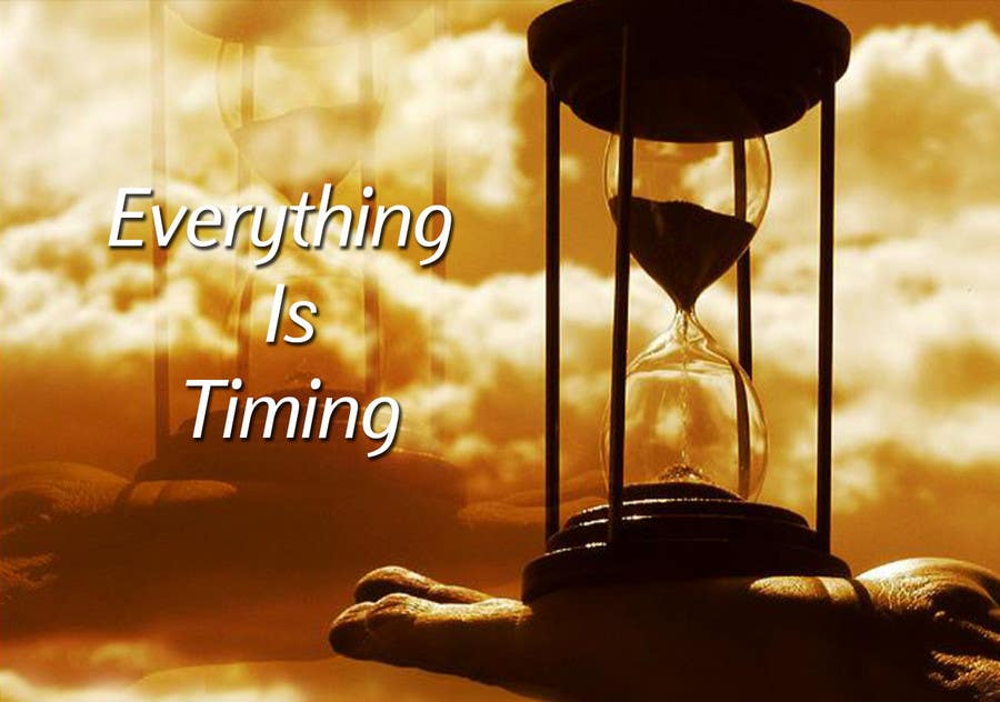 #5 for Splash Page for Everything is Timing by anaung