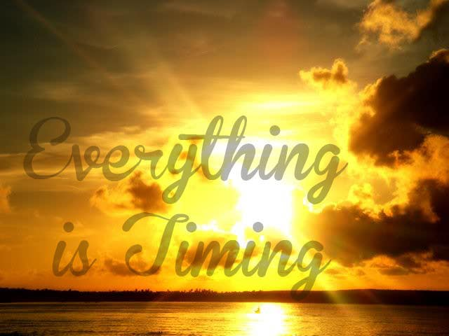 #17 for Splash Page for Everything is Timing by grapaa