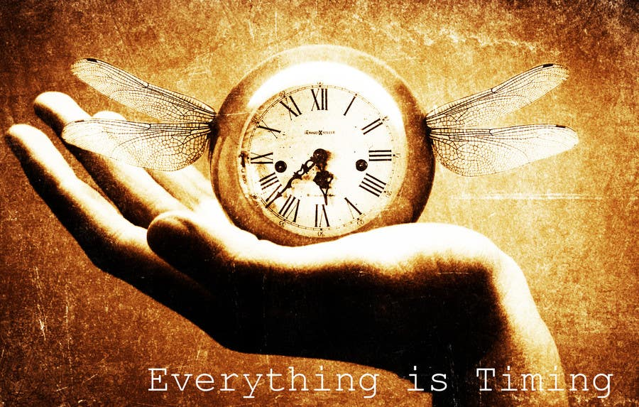 #18 for Splash Page for Everything is Timing by usaart