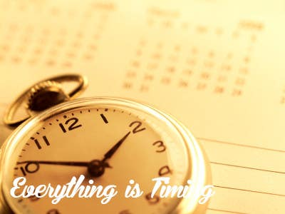 #20 for Splash Page for Everything is Timing by usaart