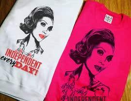 Nro 50 kilpailuun Design a T-Shirt Vivica Fox käyttäjältä avtoringUK