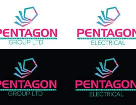 dworker88 tarafından Revise current logo to include strap line, change electrical to caps and option to show logo on black background. için no 5