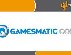 #4 para Design a Logo for Gamesmatic por CasteloGD