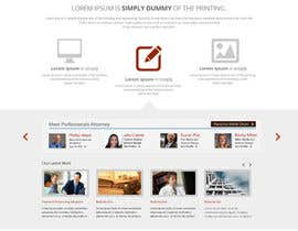 #11 para Design a Website Mockup for AttorneyAuction.com por tania06