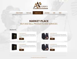 #20 para Design a Website Mockup for AttorneyAuction.com por tania06
