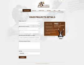 #21 para Design a Website Mockup for AttorneyAuction.com por tania06
