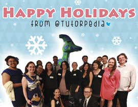 #73 for Design a Flyer for Tutorpedia's holiday postcard! by Alliosaurus