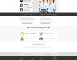 #2 cho Redesign Front Page of Zervant Website bởi tania06