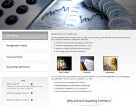 #13 cho Redesign Front Page of Zervant Website bởi shajib3006