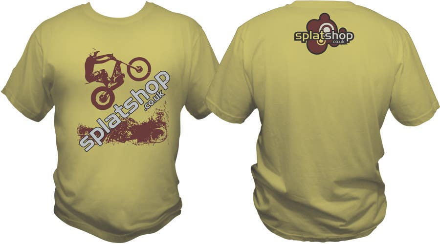 #70 for Design a T-Shirt for Moto Trials by bacujkov