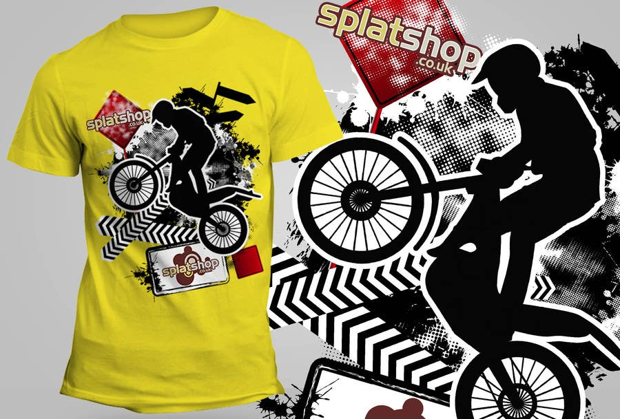 #65 for Design a T-Shirt for Moto Trials by theislanders
