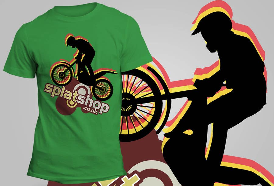 #66 for Design a T-Shirt for Moto Trials by theislanders