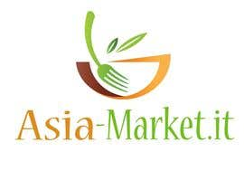 #47 para Design a Logo for our new online-shop of ethnic food Asia-Market.it por PPostpProject