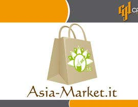 #39 for Design a Logo for our new online-shop of ethnic food Asia-Market.it af CasteloGD