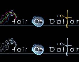 #242 dla Logo Design for HAIR ON DALTON przez fuzzyfish