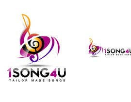 #172 for Logo Design for 1song4u.com by twindesigner