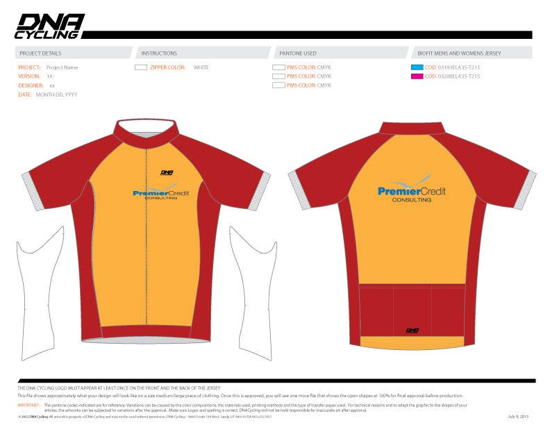 Konkurrenceindlæg #24 for Full Cycling Kit/Jersey Design