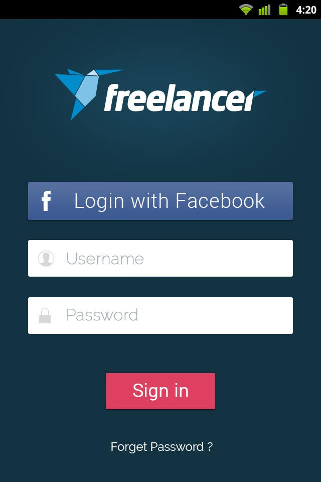 #59 for Freelancer.com is looking for a talented android app designer! by cnlbuy