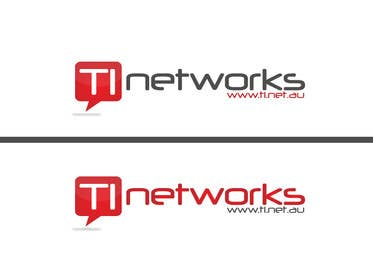 #45 for Design a Logo for TI Networks (www.ti.net.au) af rraja14