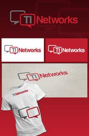 #92 for Design a Logo for TI Networks (www.ti.net.au) af SergiuDorin
