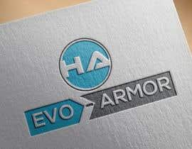 dezig9 tarafından EVO-ARMOR / HYBRID ARMOR text logo için no 36