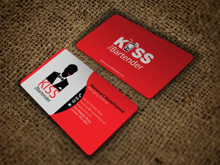 Entry 18 By Hd12345 For Design Some Business Cards For A Mobile